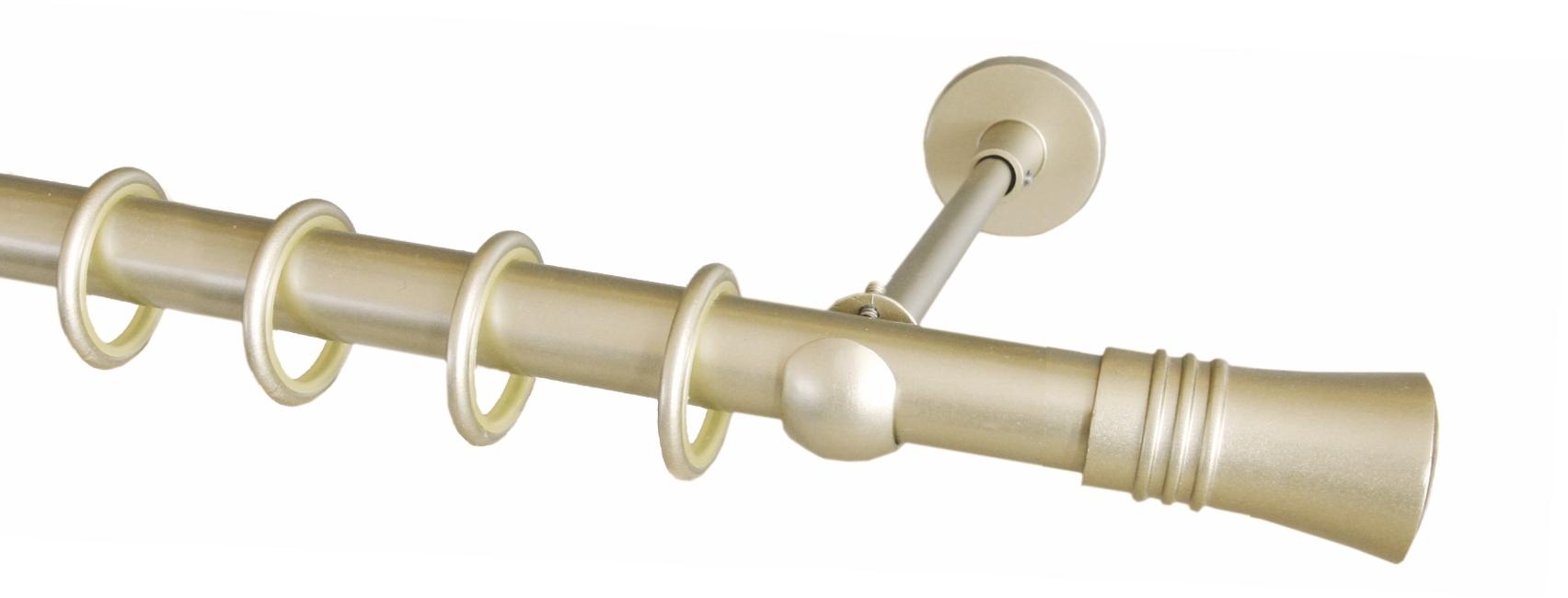 Профильные металлические деревянные карнизы серия эко квадро.